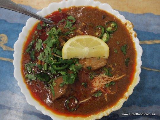 Pakistani food nihari