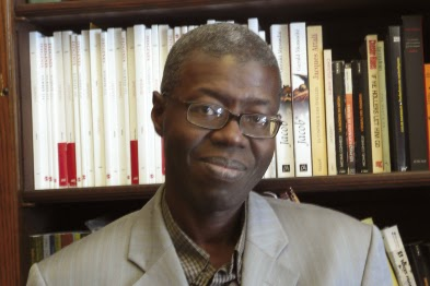 Souleymane Bachir Diagne, Senegalese philosopher and pionner of the  new African philosophy scene.