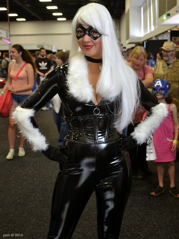 oz comic-con adelaide - black cat