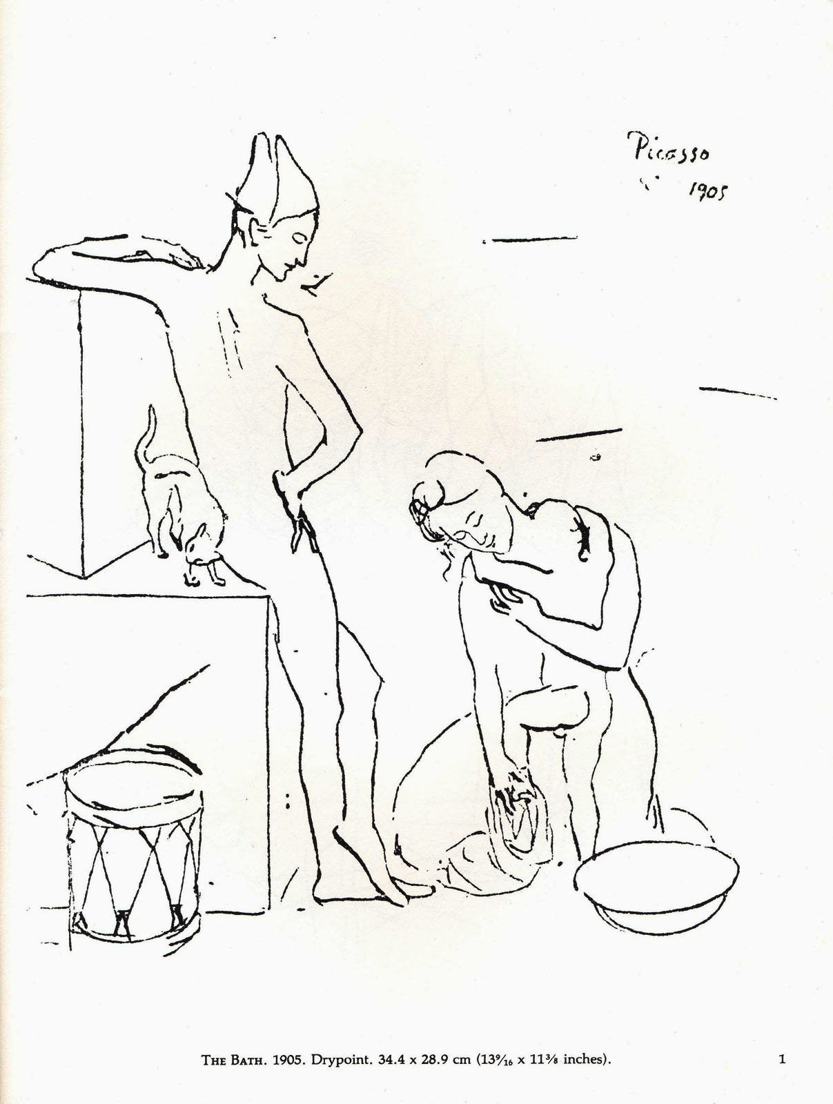 Line Drawing By Picasso : Un rincón sombra picasso line drawings and prints