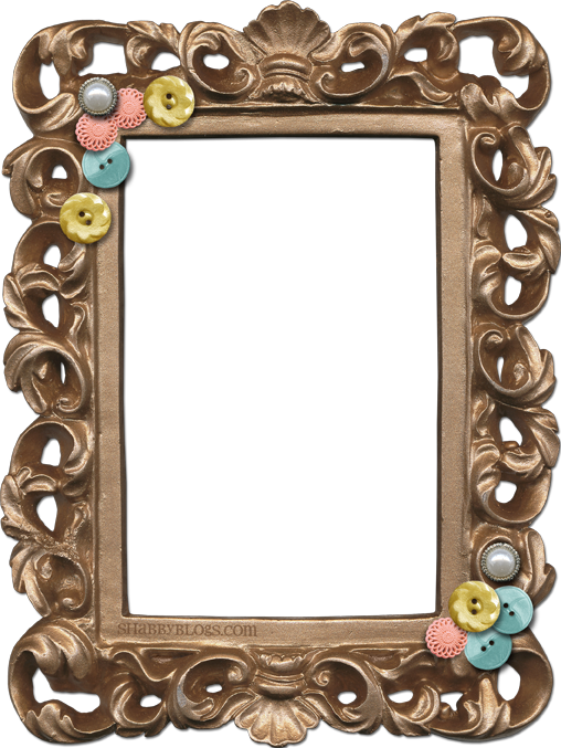 Shabby Blogs Summer Sunset Frame Freebie