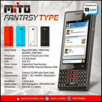 Mito A350 Fantasy Android Murah QWERTY