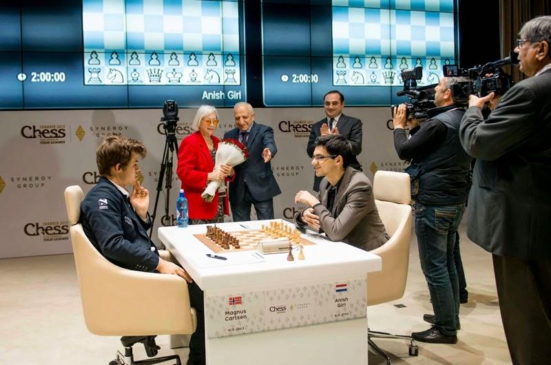 Shamkir Chess 2015. Giri - Carlsen