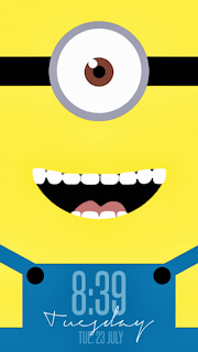 Guide to Minion lock screen for Android