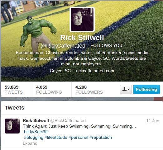 Rick's Final Tweet