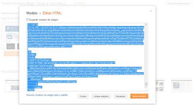 Susbstitua o HTML