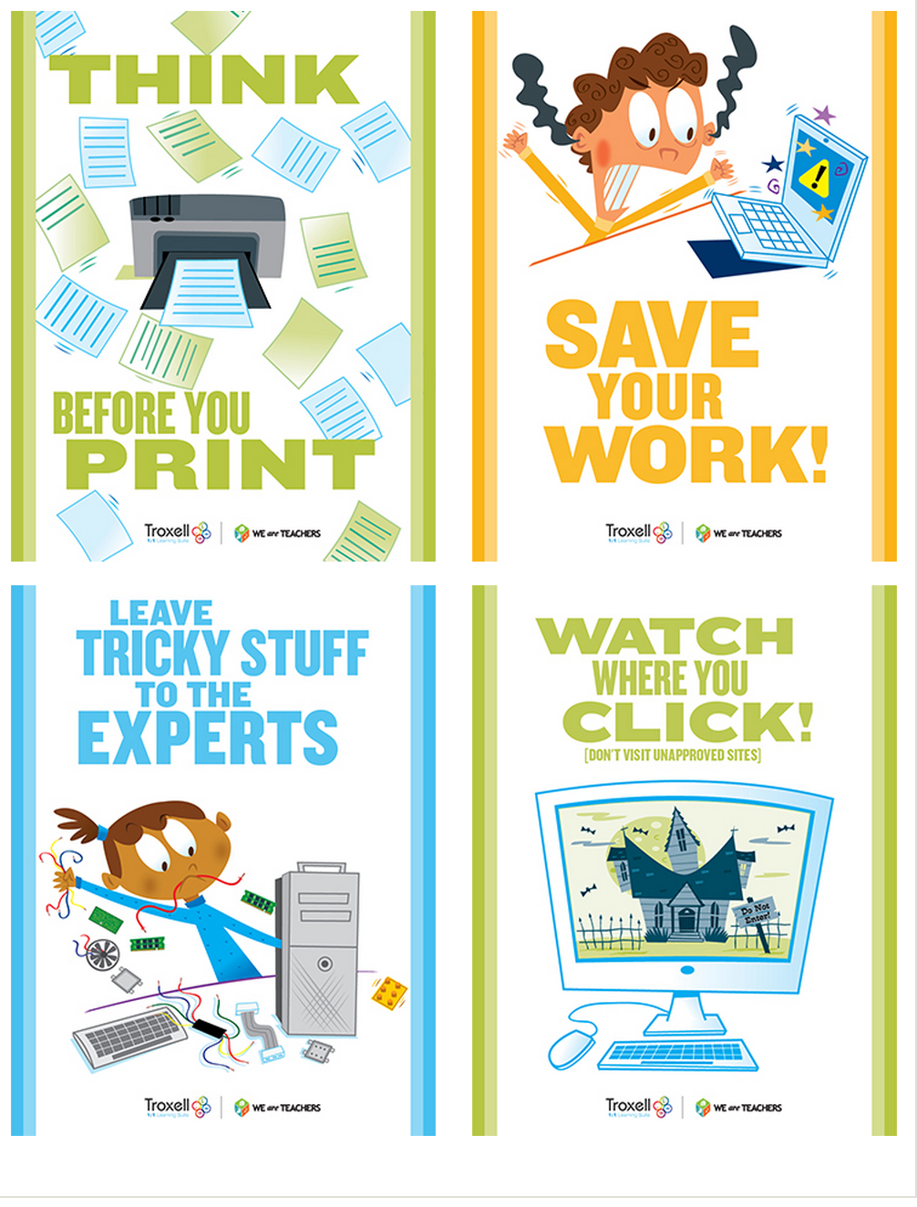 8 Must Have Classroom Posters for Technology Best ...