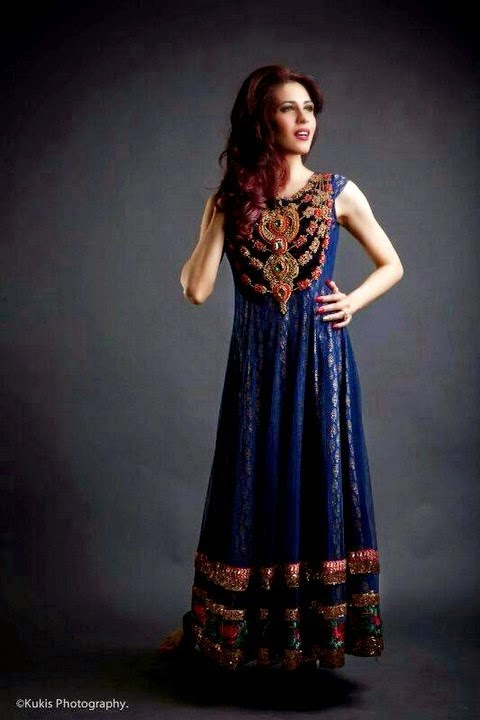 Mina Hasan Heavy Embroidered Dress Collection