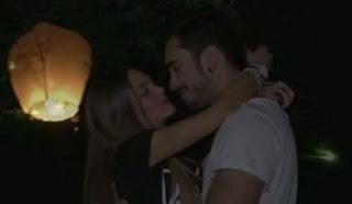 silvia e rafael si sono baciati