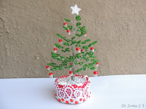 cards crafts projects beaded tree tutorial