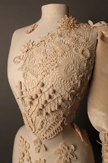 crocheted bust-form by proportion london