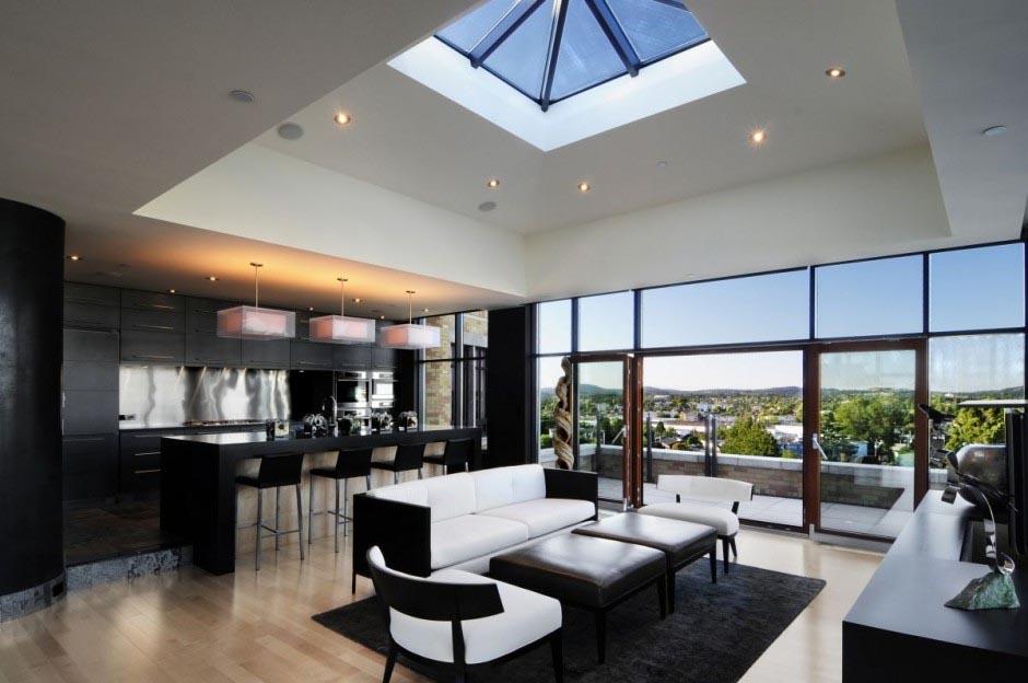 Evim in her ey at kat dekorasyon fikirleri for Interior house designs black and white
