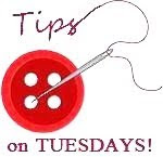 Tips on Tuesdays!