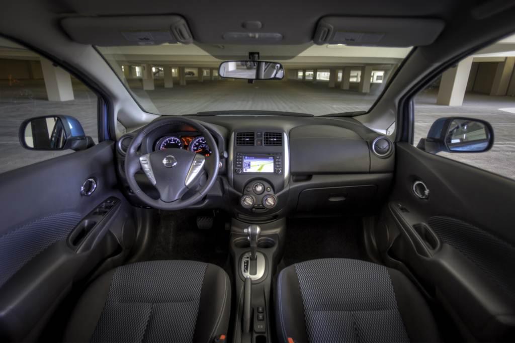 Nissan AroundView Monitor que vai lhe dar uma visão do entorno do