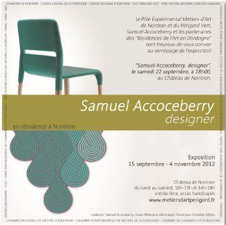 Samuel Accoceberry en Résidence au PEMA-NPV de Nontron