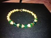 Lady G Gold Bracelet