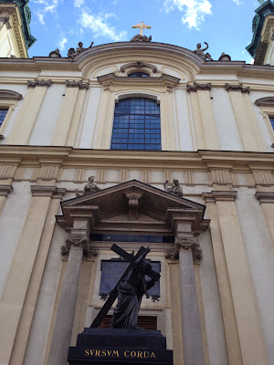 The Holy Cross Church in Warsaw, Photo by Maja Trochimczyk