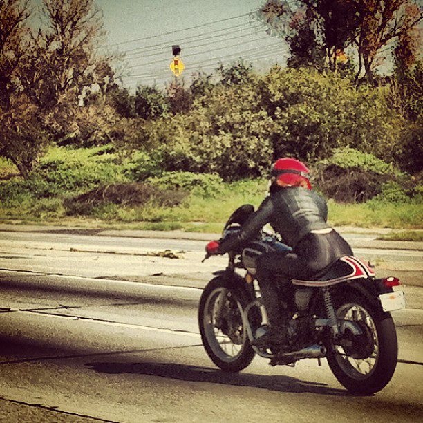 Car Girls: (Moto Girl In This Case) Only In So Cal
