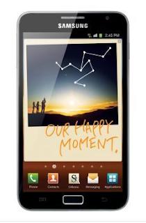 Samsung Galaxy Note N7000 Review Harga dan Spesifikasi