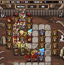 Mage Defense (魔法師 ディフェンス) 7-10 攻略