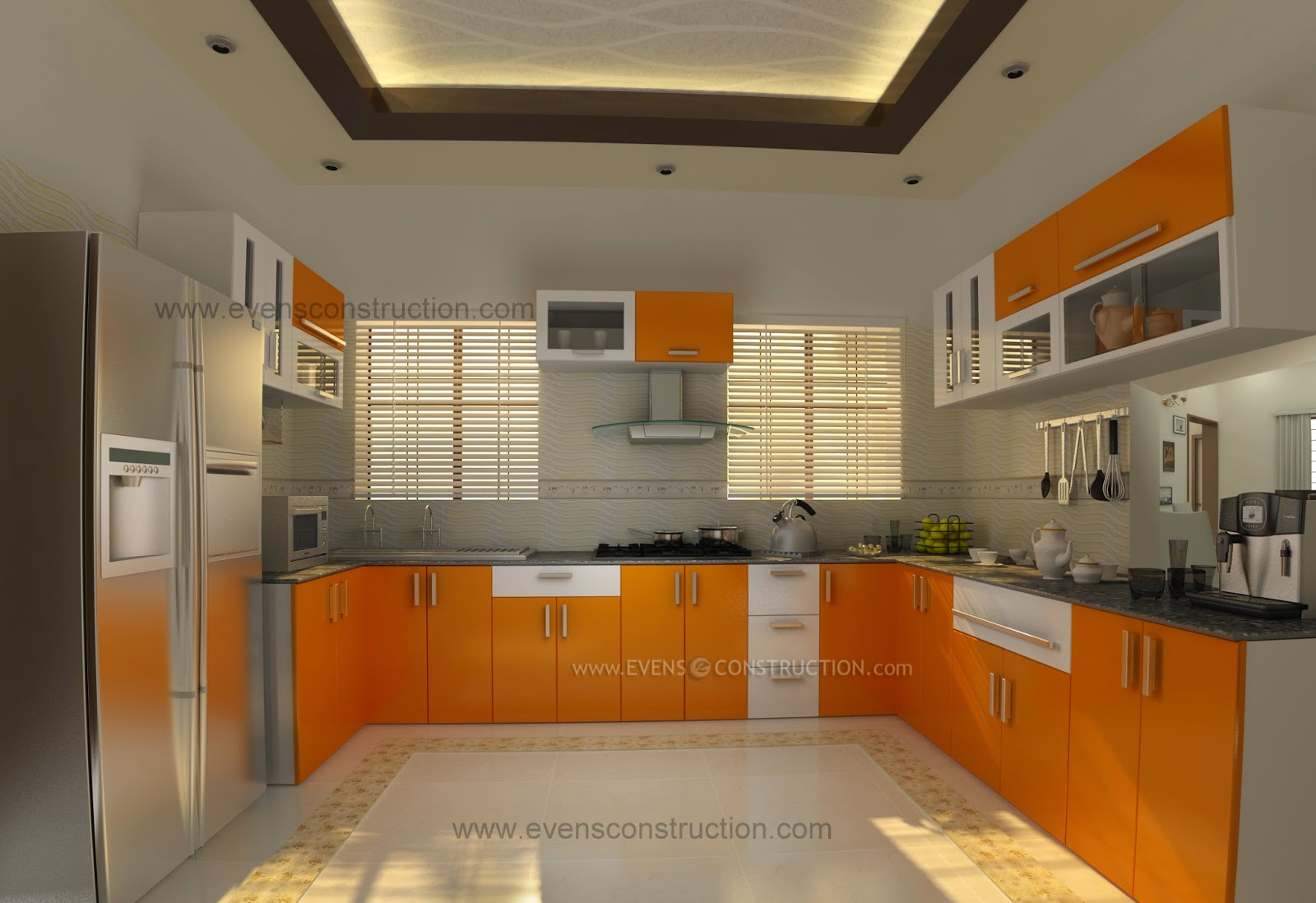 Kerala Kitchen Interior Design Home