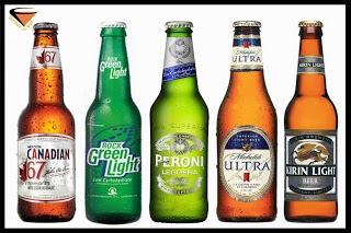 10 cervezas que menos engordan