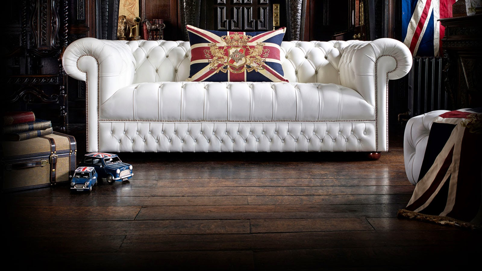 Divani chesterfield originali inglesi the english - Divani originali ...
