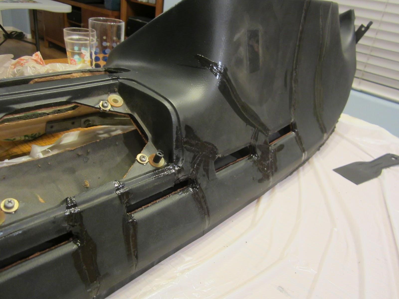 Porsche 924 Electric Conversion Dashboard Repair Part 1