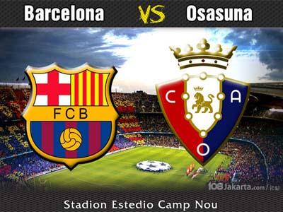 Barcelona vs Osasuna 16 Marzo 2014