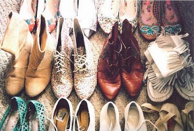 calçados boho