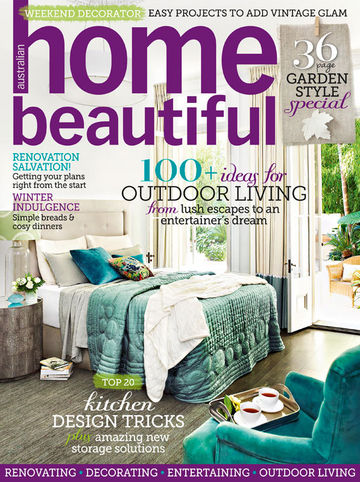 Joanie Loves Chachi Home Beautiful Magazine Front Cover