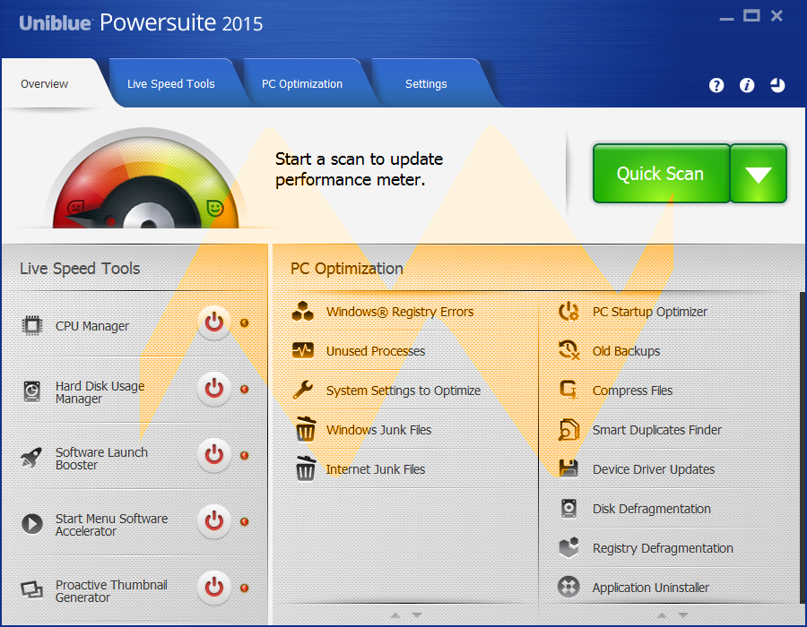 Uniblue Powersuite 2015