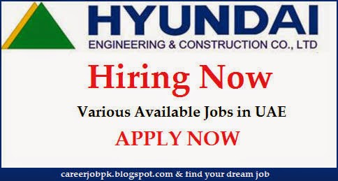 Latest Jobs in Hyundai Engineering & Construction