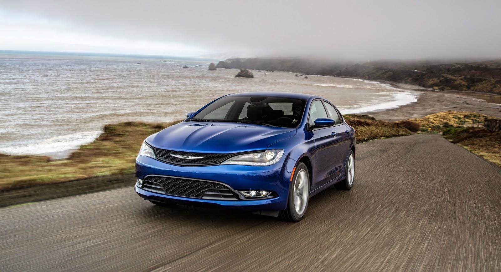 2015 Chrysler 200 Midsize Sedan is Reimagined
