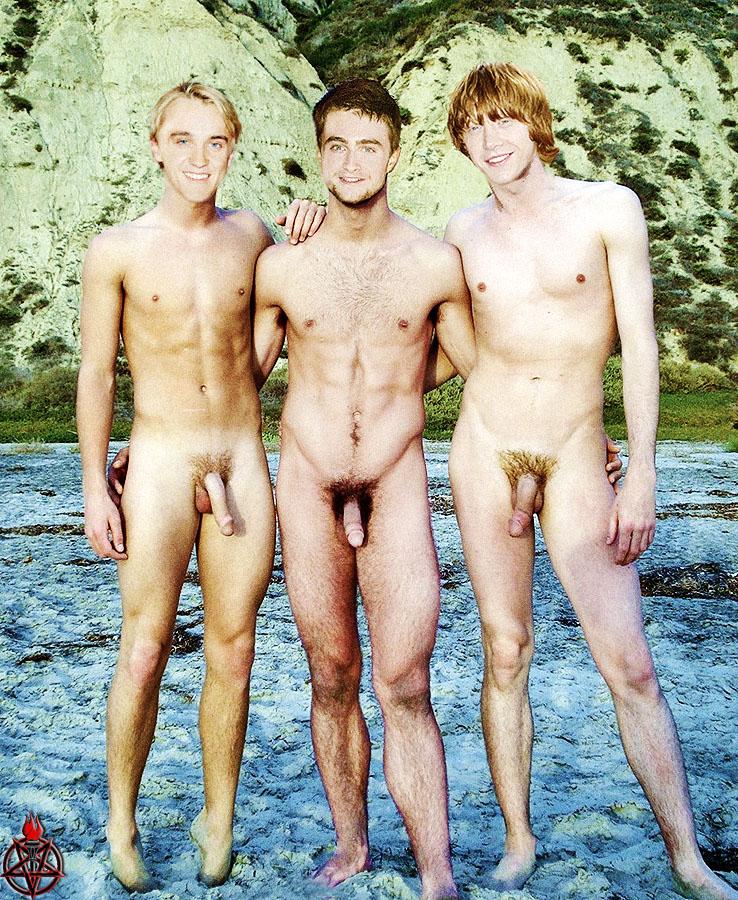 Tom Felton naken