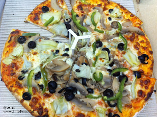 Vegetarian Pizza from pastamania Singapore