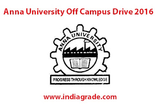 Anna University Off Campus 2016