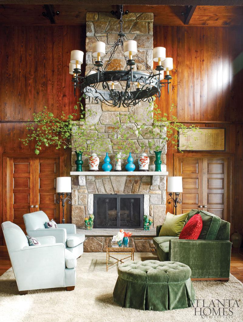 New home interior design highlands mountain home for Mountain home interior designs