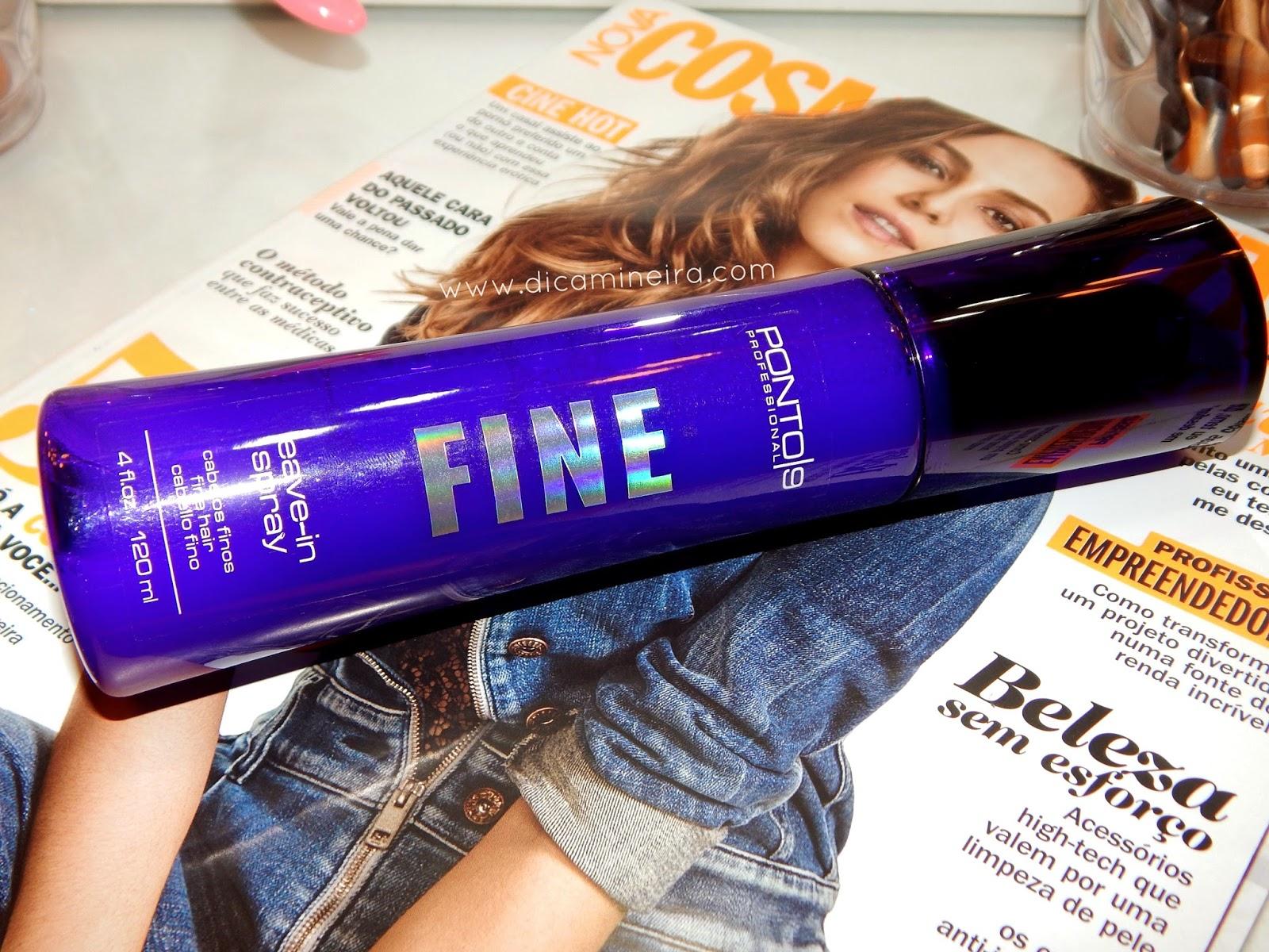 Leave-in em Spray da Ponto9 - Resenha