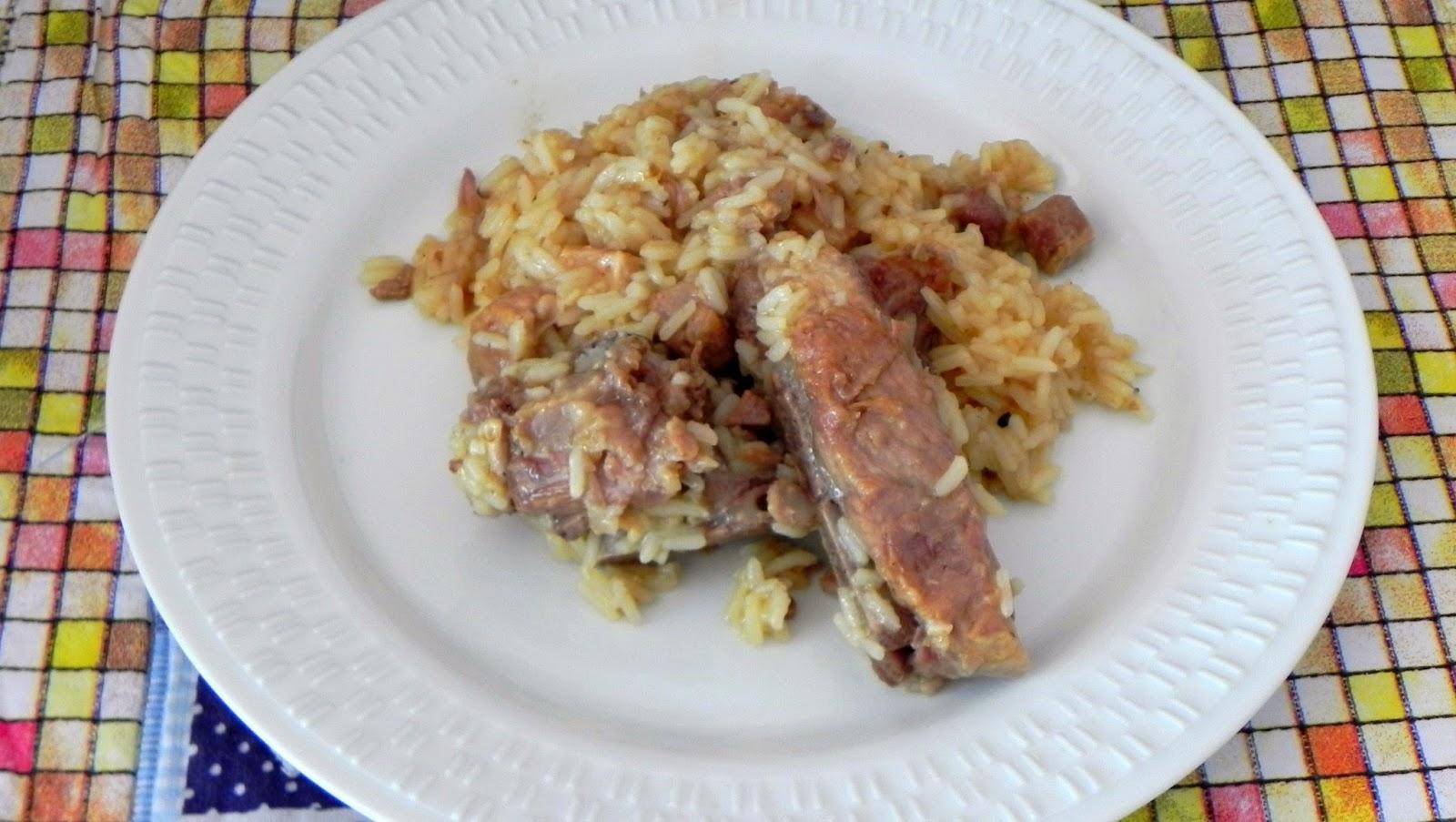 receita de arroz com suã