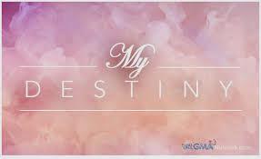 My Destiny – 29 August 2014