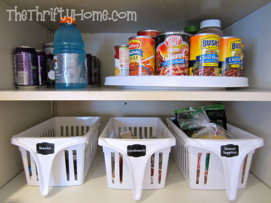 Etonnant *The Thrifty Home: Simple Solutions To Organize A Deep Pantry