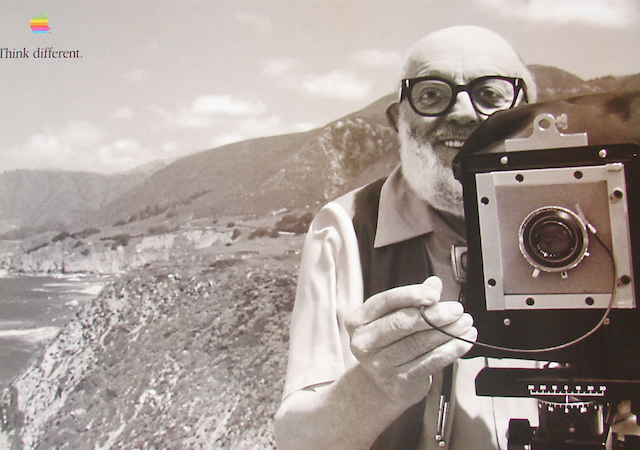 Ansel Adams - Think different