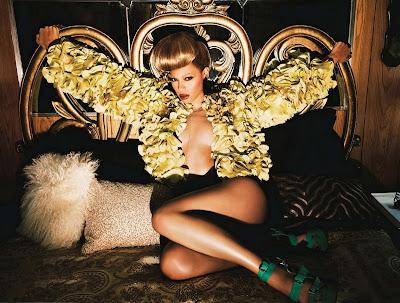 Beyonce 4 album promo shoot