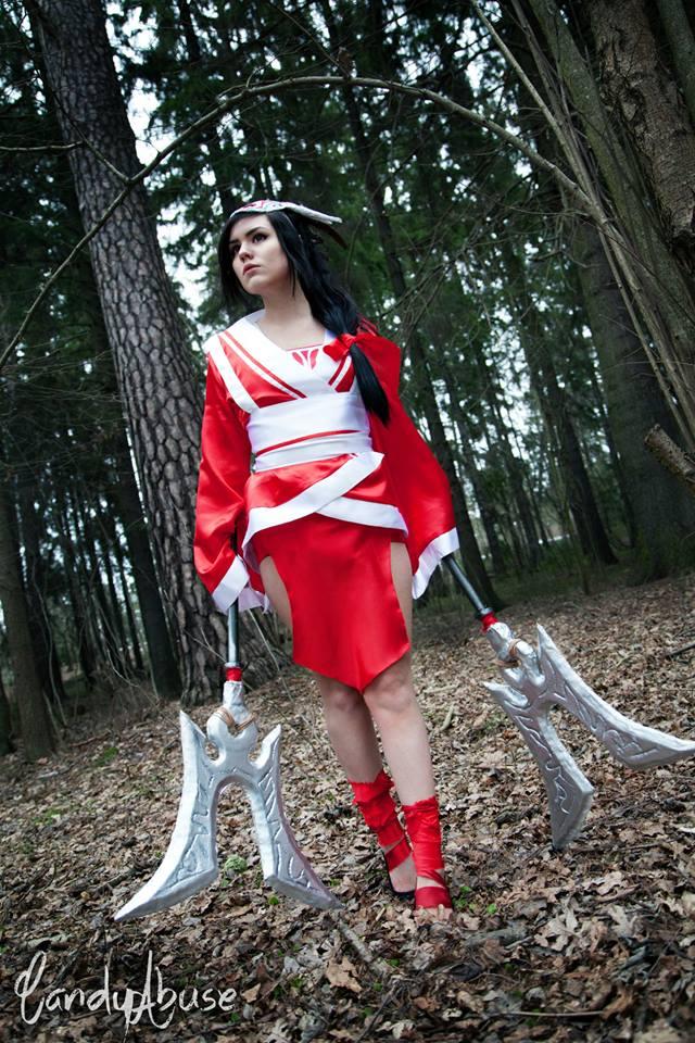 CandyAbuse Bloodmoon Akali Costume