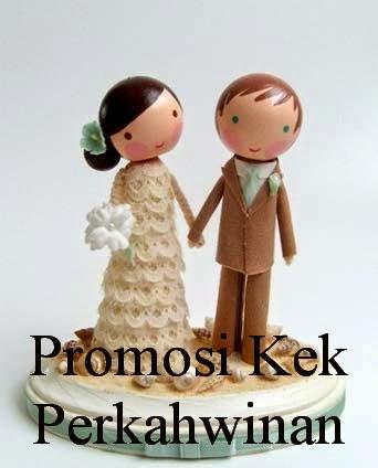 Promosi Kek Perkahwinan 2014