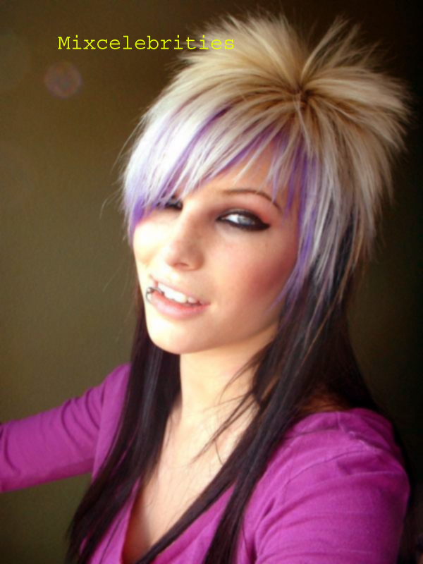 Latest Emo Hair Styles - Indian Girls Emo Hair Styles - Pakistani