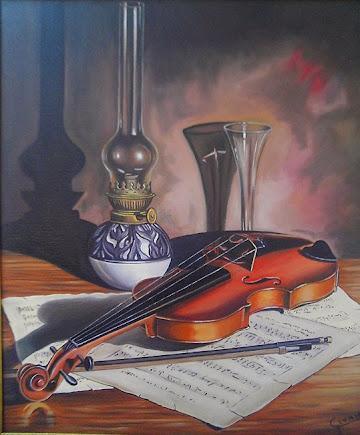 Bodegón de violín
