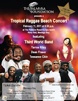Palmyra Foundation Fundraising Event - Third World - Tarrus Riley - Dean Fraser