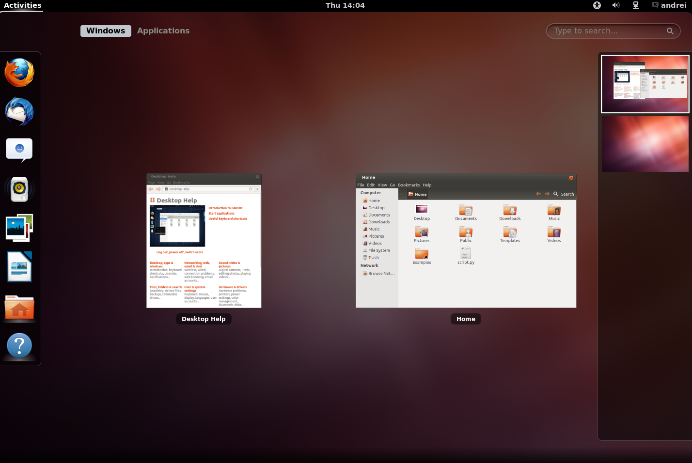 Screensavers Ubuntu 12.04